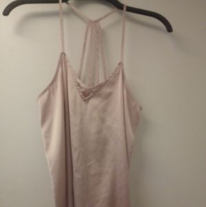 🌺 Satin Pink Strappy Tank Top 🌼